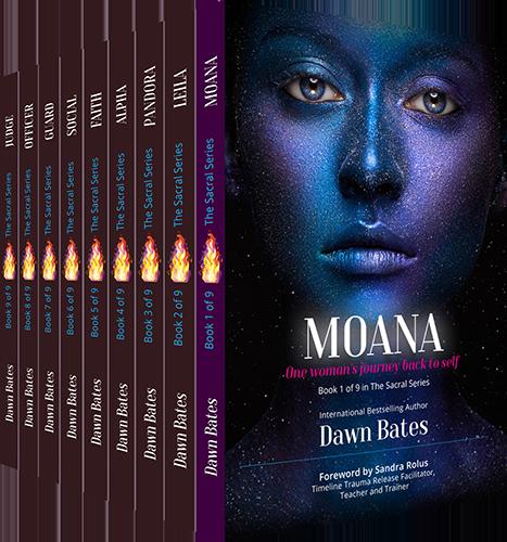 Sacral Series by Dawn Bates