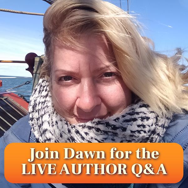 live author Q&A